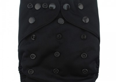 многоразовые подгузники Alva Без кармана Эконом цвет Черный