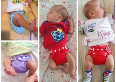 Alva многоразовые подгузники для новорожденных